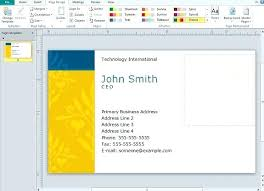 Avery 8371 Template Word Business Cards Templates Microsoft Card Template Avery