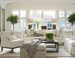 White On White Living Room Decorating Ideas Simple Decoration