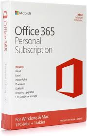 Microsoft Office 365 Personal 1 Year Subscription Sweetwater