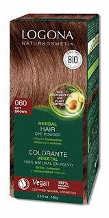 Logona Hair Dye Color Chart Logona Herbal Hair Color Powder Nut Brown 3 5 Oz