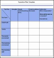 6 Transition Plan Template - Sampletemplatess - Sampletemplatess