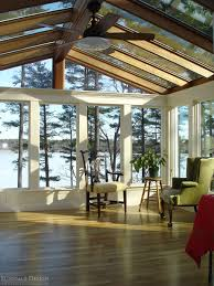 Inside sunrooms Southern Style Inside View Of Sunroom In Stoneham Massachusetts Freshomecom Sunroom Gable Glass Roof Panoramic Windows Stoneham Ma