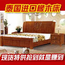 high grade oak bed wood bed modern chinese bedroom furniture oak bed furniture environmentally thailand chinese bedroom furniture