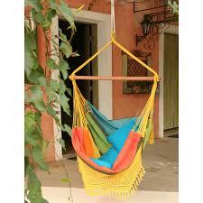 Brazilian Cotton Solid Colors Hammock Chair | Hayneedle