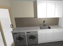 kitchen design with washing machine. 3d design laundry renovation kitchen with washing machine c