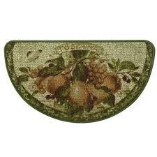 bacova guild classic berber touscana slice kitchen mat