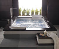 Jacuzzi tubs and whirlpools