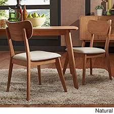 danish modern dining room chairs. Exellent Dining Penelope Danish Modern Tapered Leg Dining Chair Set Of 2  Natural Finish Throughout Room Chairs I