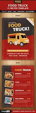 food truck flyer template startle food truck flyer