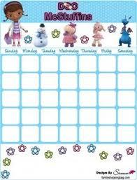 Free Printable Doc Mcstuffins Calendars Pretend Play In