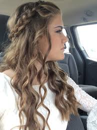 Hairstyles For Formal Dances Homecoming Hair Homecoming Pinterest Homecoming Hair And