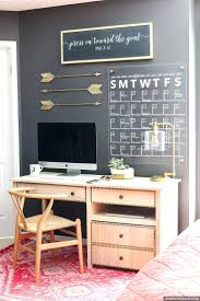 home office decor games. how to make a stylish diy acrylic calendar girly office decorating ideas home decor games h