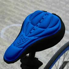 3d bike saddle cover gel soft seat