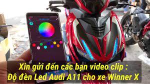 Độ đèn Led Audi A11 Winner X - YouTube