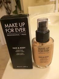 makeup forever face and body alabaster beige 32