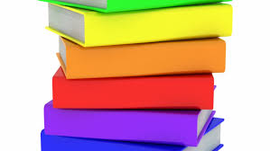 Books White Background Loop Stock Footage Video 100 Royalty Free