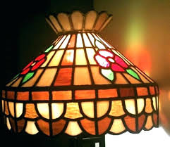 vintage bohemian style stained glass chandelier lamp