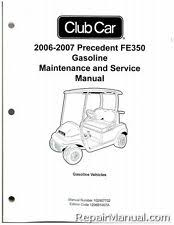 club car manual ebay 92 Gas Club Car Diagram 2006 2007 club car precedent fe350 gas service manual 102907702 1992 gas club car wiring diagram