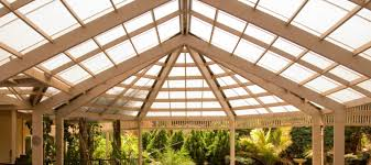 install polycarbonate roof sheets