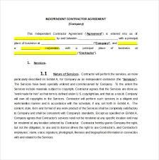 Free Contract Agreement Template Contractor Agreement Template 18