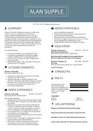Nursin Resume Resume Examples By Real People Director Of Nursing Resume