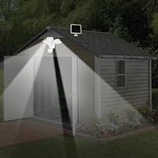 Sunforce 82183 180 Led Solar Motion Light Triple Head 1200 Lumens