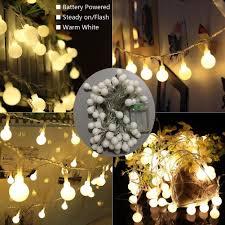 Decorative String Lights Amazon Amazon Com Yesee 33 Feet 80 Led Outdoor Indoor Globe Led