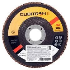 «Торцевой <b>шлифовальный лепестковый круг</b> 3M Cubitron – II ...