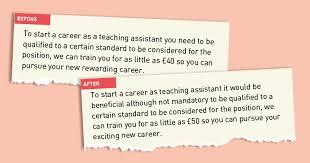 Vocational Careers List New Skills Academy Takes Down False Ta Job Advert
