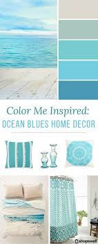 Small Picture Color Me Inspired Ocean Blues Home Decor Inspiration Warm