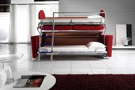 back to comfortable bunk bed couch with high quality material