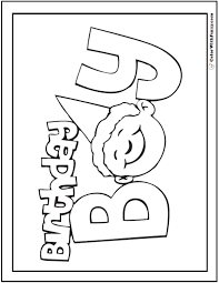 Free printable happy birthday coloring page. 55 Birthday Coloring Pages Printable And Customizable