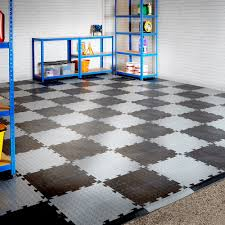 details about double garage interlocking vinyl floor tile set with ramped edges 6m x 6m
