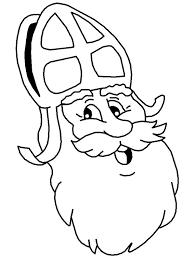 Sint Kleurplaten Sinterklaas