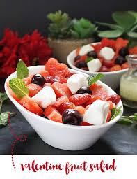 Valentine Fruit Valentine Fruit Salad With Poppy Seed Dressing Bijoux Bits