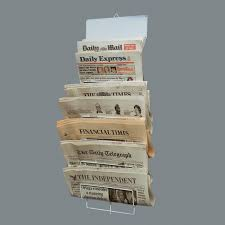 wire newspaper rack  holds  newspapers  home ideas  pinterest