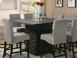 dazzling design ideas dining table seats 8 square room remodel hunt this offers the counter height