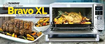 air oven fryer accessories bravo toaster nuwave vs frying cooking chart power recipes pro plus