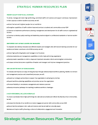 human resource template co hr strategy template 39 word pdf documents