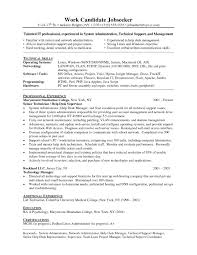 mcse resume samples resume format for linuxystem administrator best ofample essay five