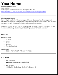 Cv Retail 3 Best Retail Manager Resume And Cv Samples