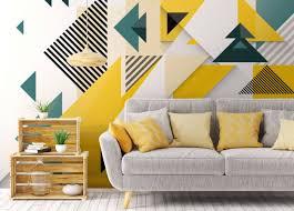 happy geometry • Wall Murals ...