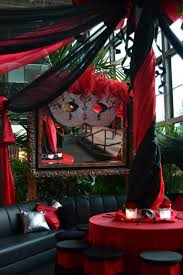 Table Decorations For Masquerade Ball Red And Black Decor At A Masquerade Ballparty Httpwww Black And 74