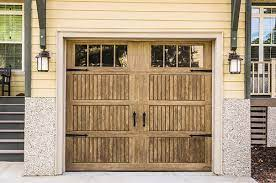 what s the best material for a garage door