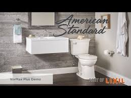 vormax plus self cleaning toilet