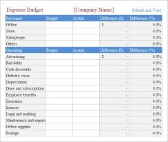 Budget Excel Sheet Template Budget Spreadsheet Template 8 Free Samples Examples
