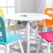 kids table and chairs with storage round kids table 2 chair set with storage brights childrens kids table and chairs