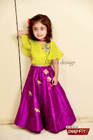 Indian Baby Girl Lehenga Designs Like Mother Like Daughter We R So Happy To Design Such