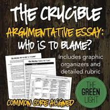 the crucible act essay prompts essay prompts and activities