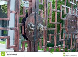 Ancient door knob stock image. Image of lion, ancient - 16105119